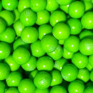 Green Apple Gumballs (850 Count) - Gumball Machine Warehouse