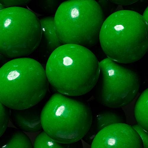 Green Decorator Gumballs (700 Count) - Gumball Machine Warehouse