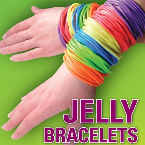 Jelly Bracelets In 1 Inch Toy Capsules - Gumball Machine Warehouse