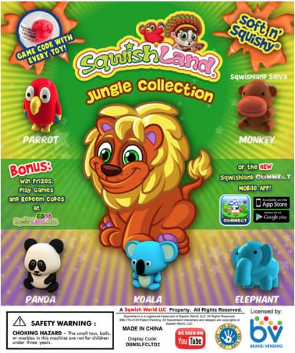Jungle Mania 1 Inch Toy Capsules - Gumball Machine Warehouse