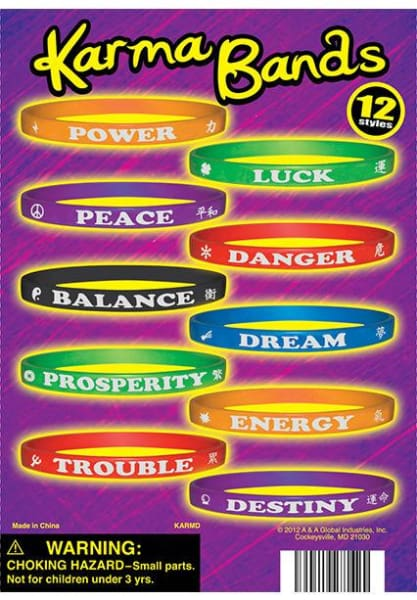 Karma Bands In 1 Inch Toy Capsules - Gumball Machine Warehouse