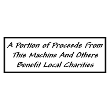 Local Charity Labels (Pack Of 10) - Gumball Machine Warehouse
