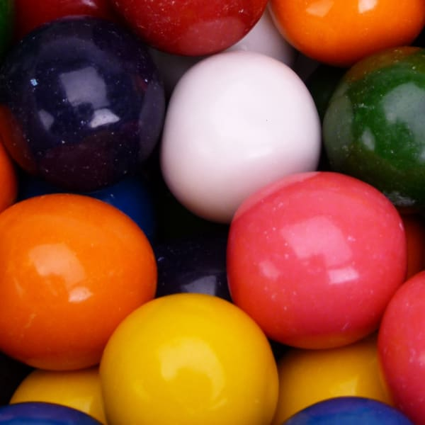 Mega Mouth Gumballs (Unfilled) (138 Count) - Gumball Machine Warehouse