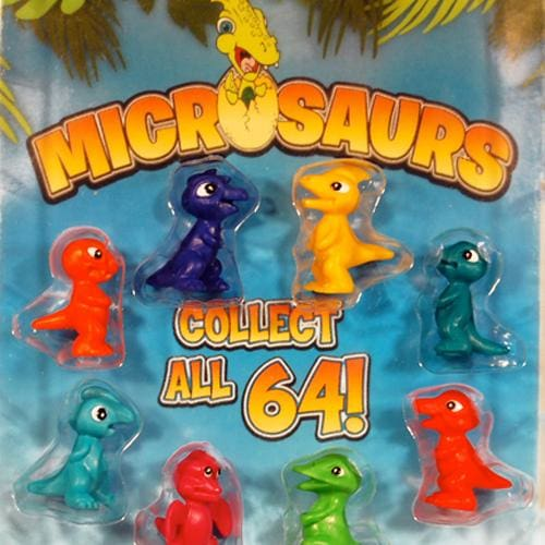 Microsaurs Figurines Vending Toys In 1 Inch Toy Capsules - Gumball Machine Warehouse