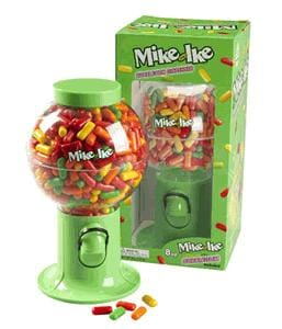 Mike And Ike Gum Dispenser - Gumball Machine Warehouse
