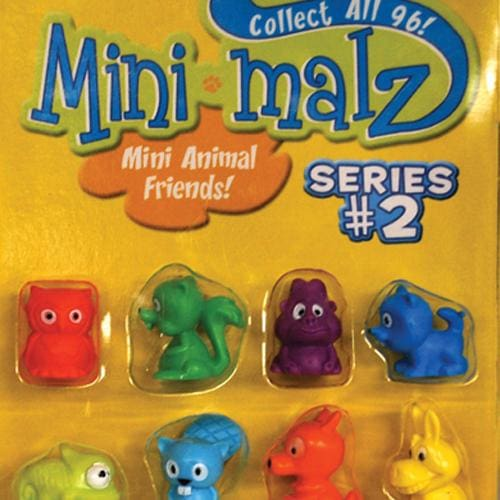 Mini-Malz Figurine Series 2 Vending Toys In 1 Inch Toy Capsules - Gumball Machine Warehouse