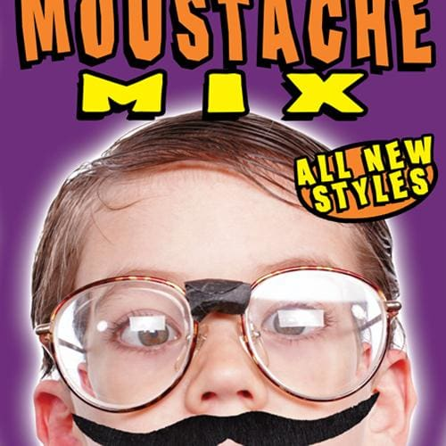 Moustache Mix Vending Toys In 1 Inch Toy Capsules - Gumball Machine Warehouse