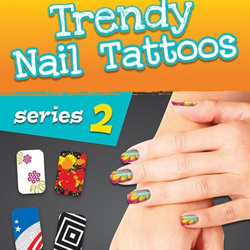 Nail Tattoos Series 2 - Gumball Machine Warehouse