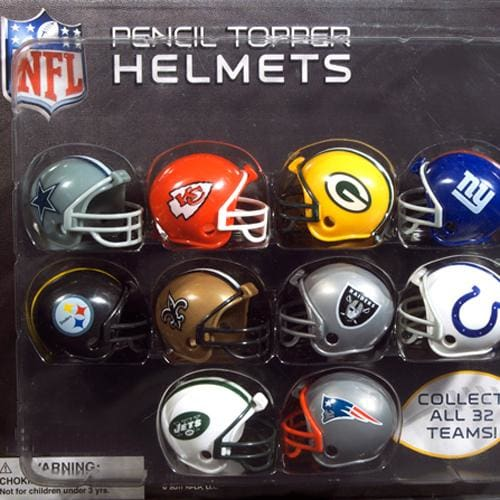 Nfl Helmet Toppers In 2 Inch Toy Capsules - Gumball Machine Warehouse