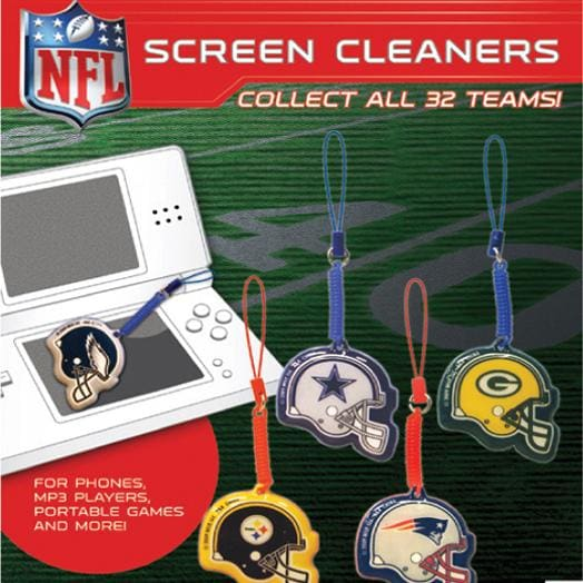Nfl Screen Cleaners In 2 Inch Capsules - Gumball Machine Warehouse