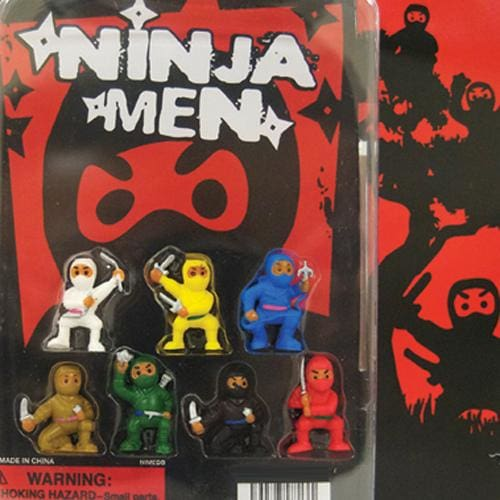 Ninja Fighters Vending Toys In 2 Inch Toy Capsules - Gumball Machine Warehouse