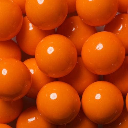 Orange Decorator Gumballs (700 Count) - Gumball Machine Warehouse