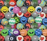 Premium Mixed Bouncy Balls 27Mm - Gumball Machine Warehouse