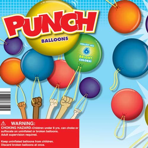 Punch Balloons In Capsules For Vending In 2 Inch Toy Capsules - Gumball Machine Warehouse