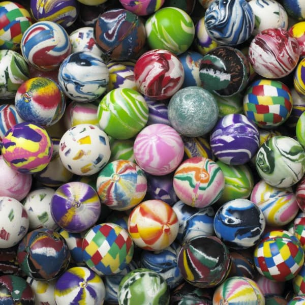 Regular Mixed Bouncy Balls 27Mm - Gumball Machine Warehouse