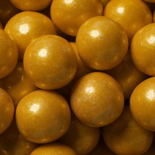 Shimmer Gold Gumballs (700 Count) - Gumball Machine Warehouse