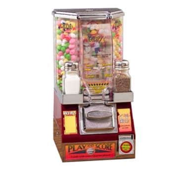 Small Candy Coin Shooter - Gumball Machine Warehouse