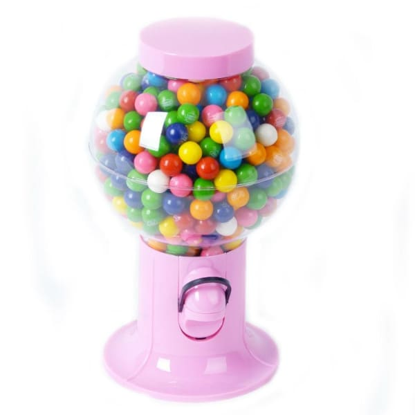 Small Pink Snack Dispenser - Gumball Machine Warehouse