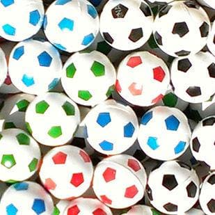 Soccer Ball Bouncy Balls 27Mm - Gumball Machine Warehouse