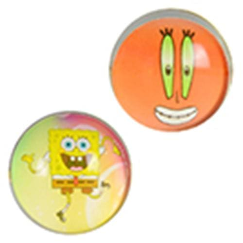 Spongebob Squarepants Bouncy Balls 45Mm - Gumball Machine Warehouse