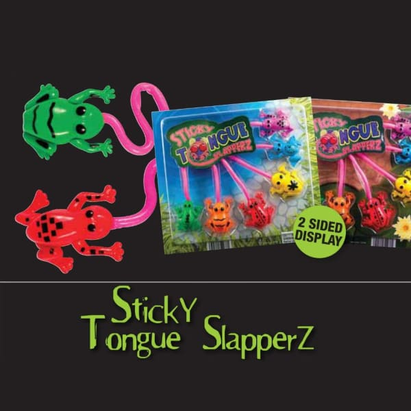Sticky Tongue Slapperz In 2 Inch Toy Capsules - Gumball Machine Warehouse