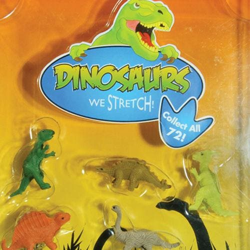 Stretchy Dinosaurs Toys In 1 Inch Toy Capsules - Gumball Machine Warehouse