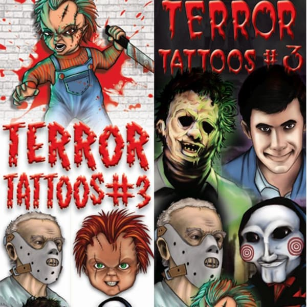 Terror Tattoos #5 Vending Tattoos - Gumball Machine Warehouse