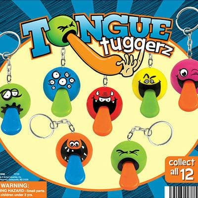 Tongue Tugger Keychains In 2 Inch Toy Capsules - Gumball Machine Warehouse