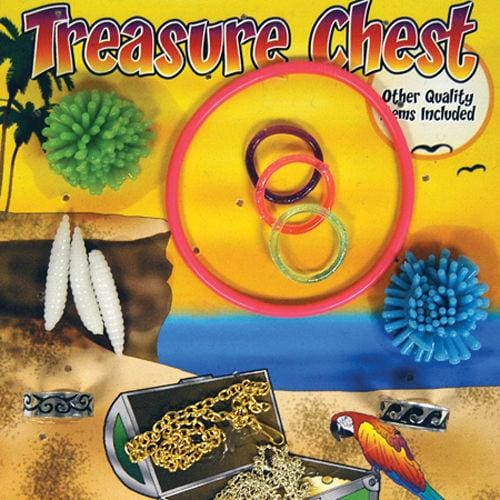 Treasure Chest Mixed Toys In 1 Inch Toy Capsules - Gumball Machine Warehouse