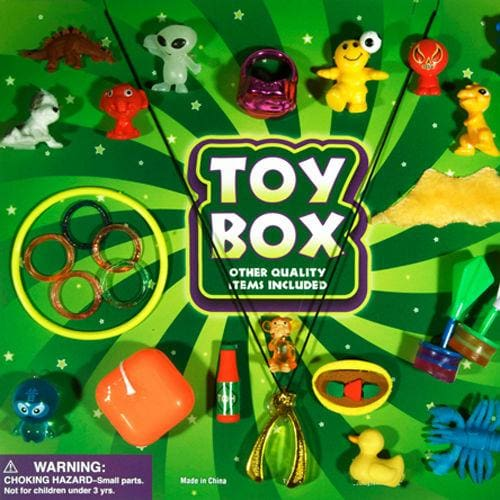 Treasure Chest Mixed Vending Toys 2 In 2 Inch Toy Capsules - Gumball Machine Warehouse