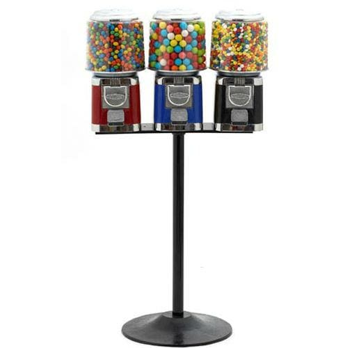 Triple Classic Gumball Machines - Gumball Machine Warehouse