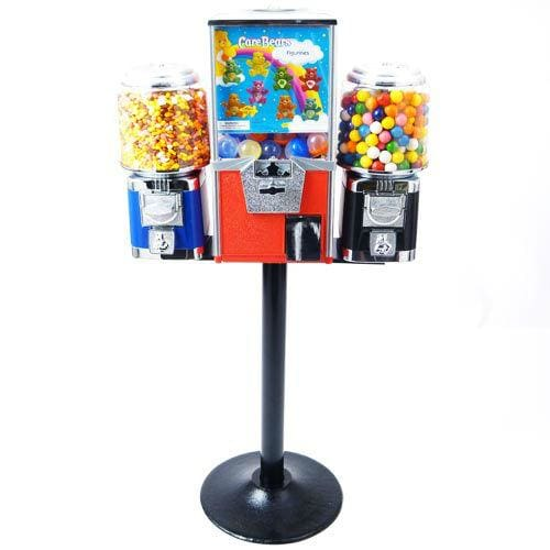 Triple Combo Vending Machine - Gumball Machine Warehouse