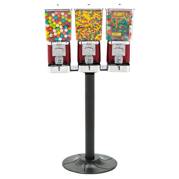 Triple Supreme Gumball Machines - Gumball Machine Warehouse