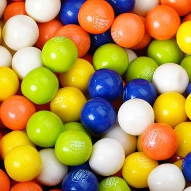 Tropical Fruit Gumballs (850 Count) - Gumball Machine Warehouse