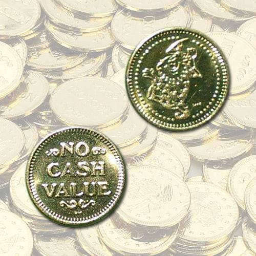 Wizard No Cash Value Vending Tokens - Gumball Machine Warehouse