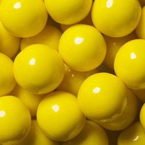Yellow Decorator Gumballs (700 Count) - Gumball Machine Warehouse