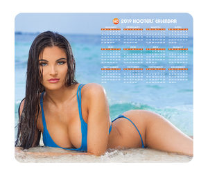 Hooters Calendar Mouse Pad Gianna