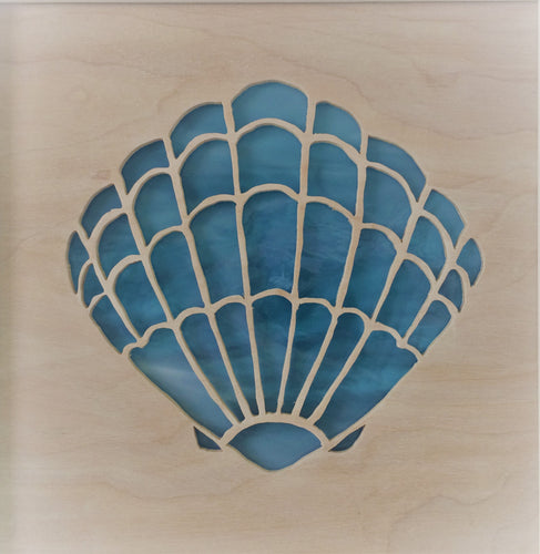 Scallop Shell Cabinet Accent Panel