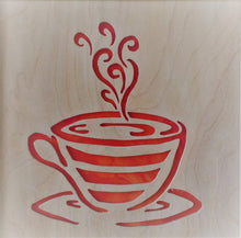 Load image into Gallery viewer, Coffee Cup Cabinet Accent Panel