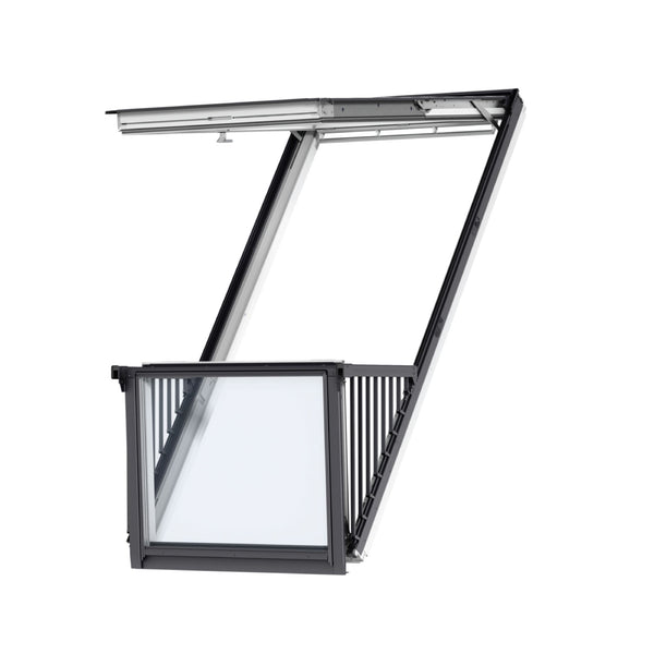 Velux GDL PK19 SD0L001 Single Roof Balcony & Flashing Image 1