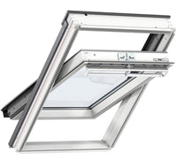Velux GGL CK04 2066 White Paint Centre-Pivot Window 55cm x 98cm