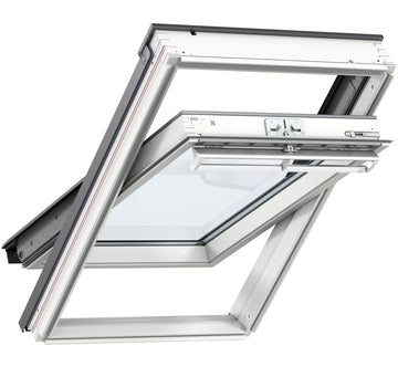 Velux GGL MK06 206021U White Paint Centre-Pivot Window 78cm x 118cm