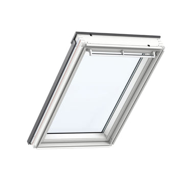 Velux GGL UK04 207021U White Paint Centre-Pivot Window 134cm x 98cm