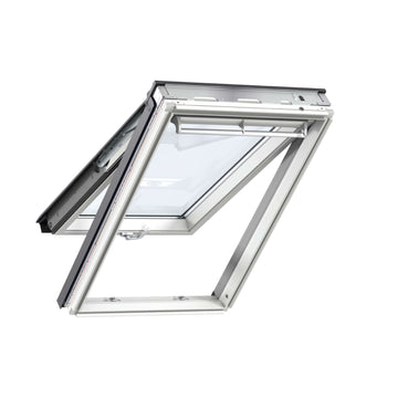 Velux GPL SK06 2070 White Paint Top-Hung Window 114cm x 118cm