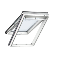Velux GPU CK04 0066 White Poly Top-Hung Window 55cm x 98cm