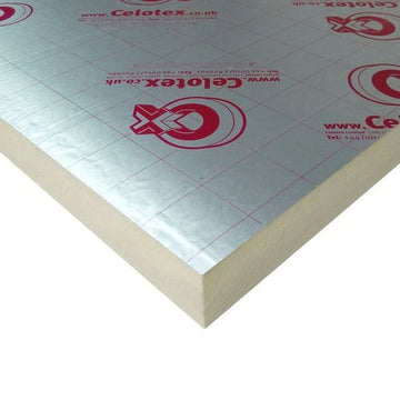 Celotex GA4100 Insulation Board 2400mm x 1200mm x 100mm (12)