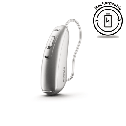 Phonak Audeo B70-R (Pair) Silver Grey