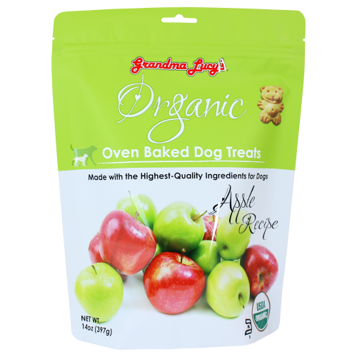 Grandma Lucy's, Dog Treats, Organic Apple