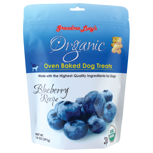 Grandma Lucy's, Dog Treats, Organic Blueberry