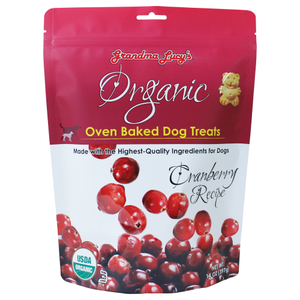 Grandma Lucy's, Dog Treats, Organic Cranberry